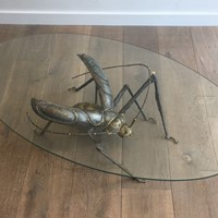 Duval Brasseur Style. Grasshopper Coffee Table
