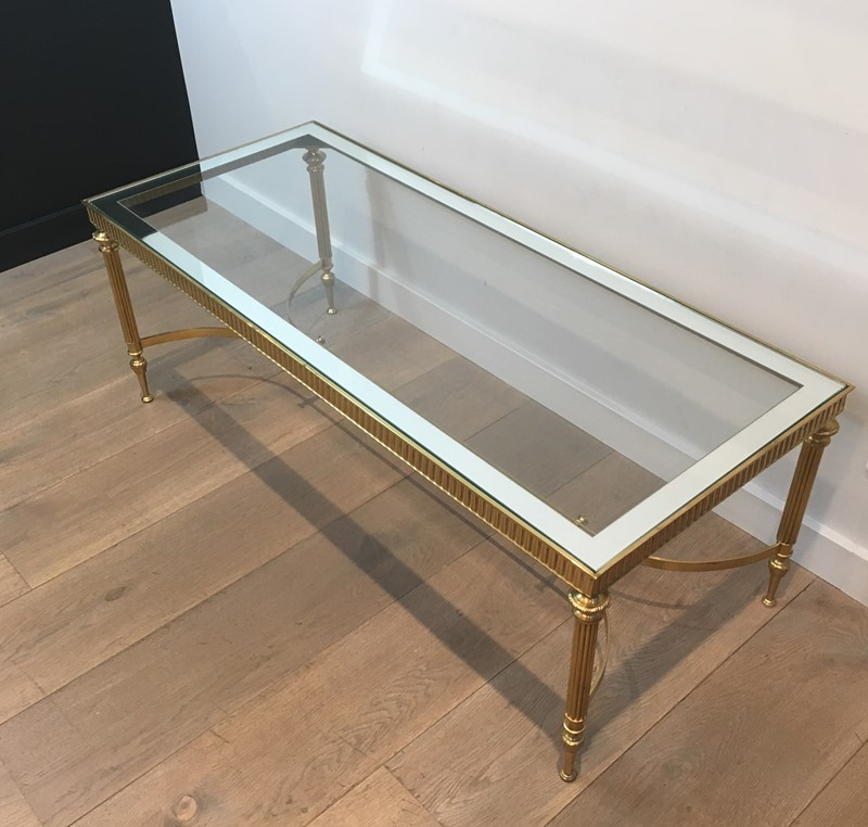 Maison Jansen Style. Large Brass Coffee Table-barrois-antiques-50s-38021-main-637285217578156573.jpg