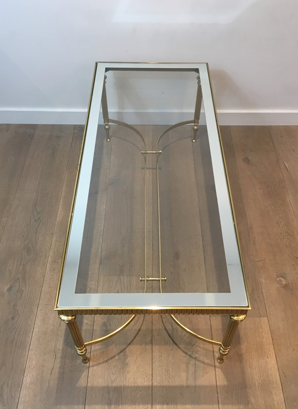 Maison Jansen Style. Large Brass Coffee Table-barrois-antiques-50s-38022-main-637285217599874373.jpg