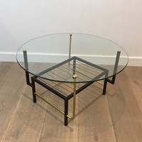 Att. to Mathieu Matégot. Round Coffee Table