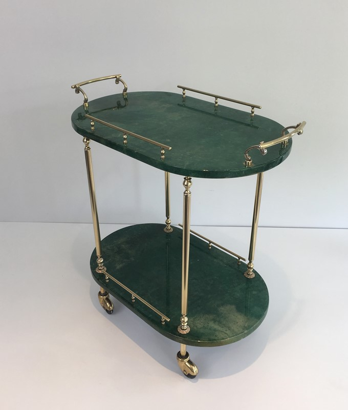 Aldo Tura. Goatskin and Gilt Metal Drinks Trolley-barrois-antiques-50s-39363-main-637387189151802883.jpg