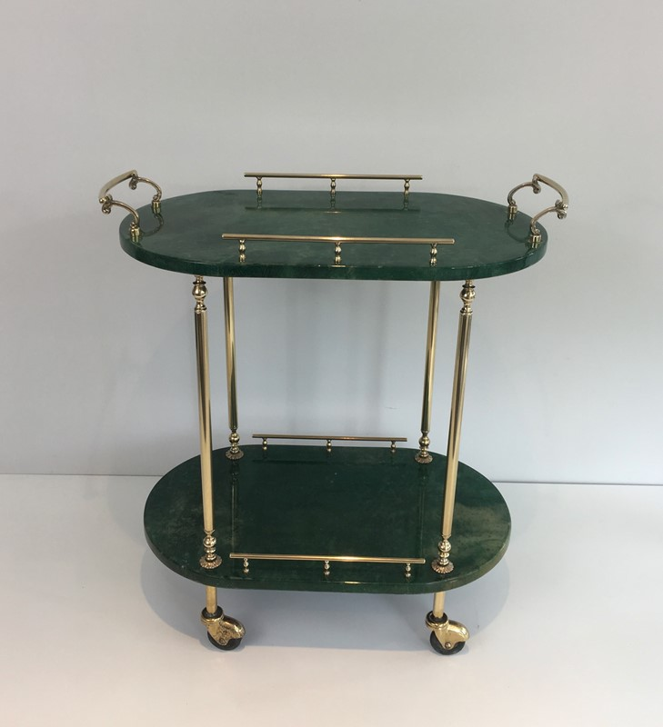 Aldo Tura. Goatskin and Gilt Metal Drinks Trolley-barrois-antiques-50s-39365-main-637387189613363990.jpg