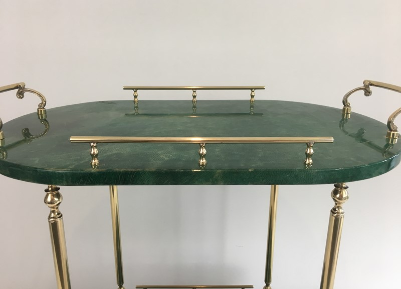 Aldo Tura. Goatskin and Gilt Metal Drinks Trolley-barrois-antiques-50s-39367-main-637387189656644441.jpg