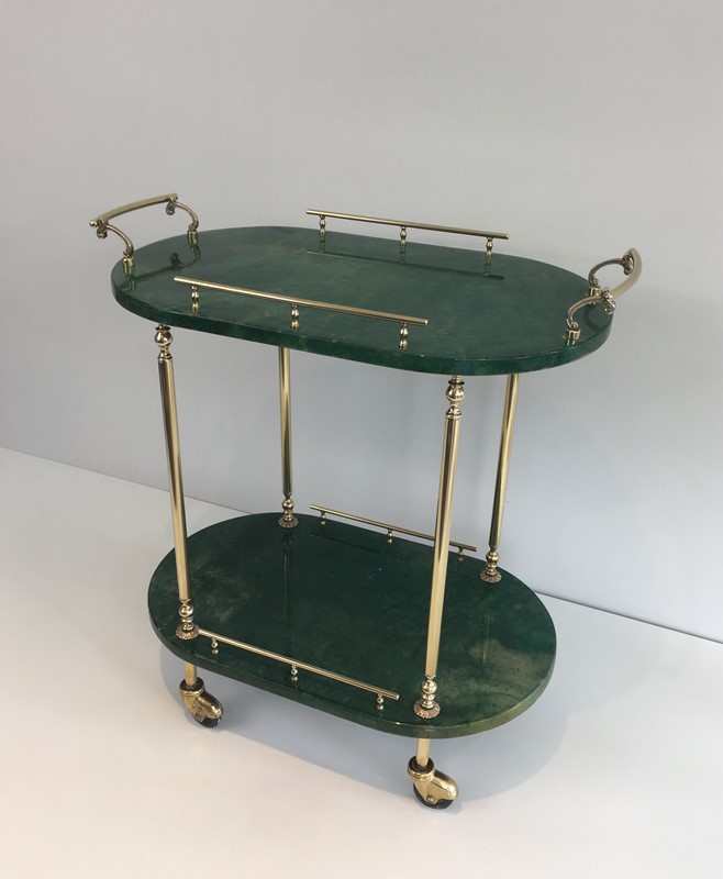 Aldo Tura. Goatskin and Gilt Metal Drinks Trolley-barrois-antiques-50s-39371-main-637387189754456378.jpg