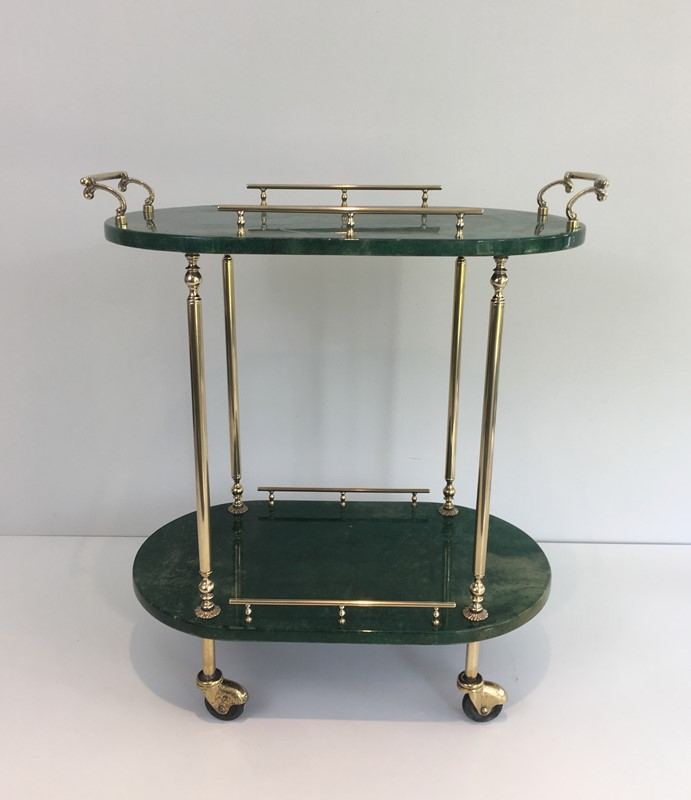 Aldo Tura. Goatskin and Gilt Metal Drinks Trolley-barrois-antiques-50s-39372-main-637387189774612546.jpg