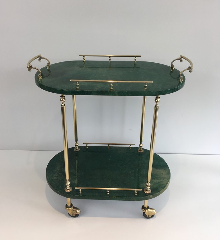 Aldo Tura. Goatskin and Gilt Metal Drinks Trolley-barrois-antiques-50s-39374-main-637387190239608141.jpg