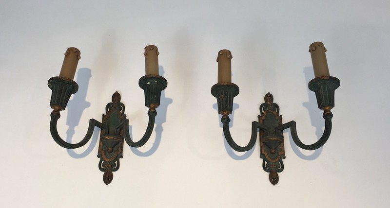 Interesting Pair of Bronze Sconces-barrois-antiques-BS-174-main-636641338937085912.jpg