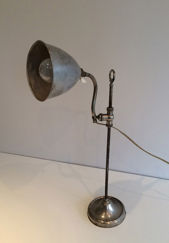 Industrial Up and Down Table Lamp. Circa 1900 -barrois-antiques-I-640-main-636619001729715453.jpg