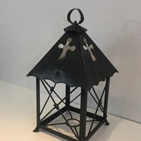 Wrought Iron Lantern. French.