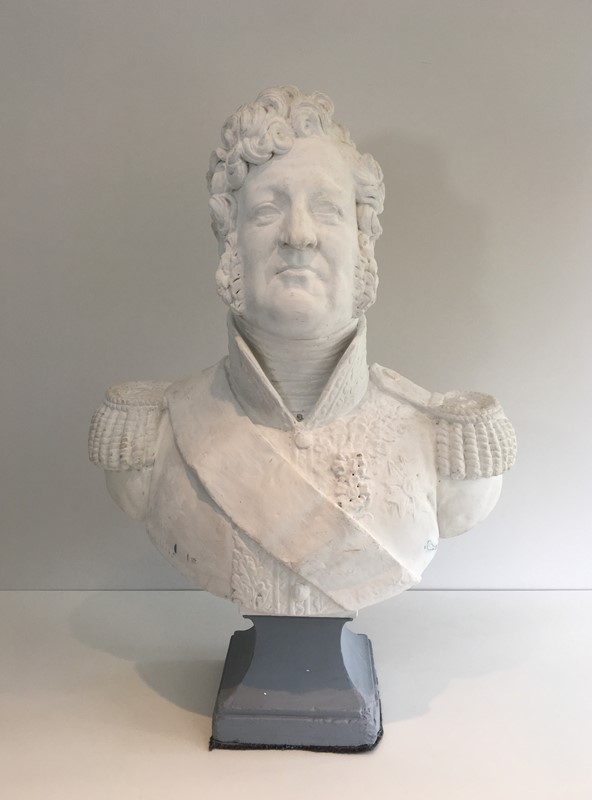 Important Louis-Philippe Plaster Bust. French-barrois-antiques-d-2333-main-637231656473910380.JPG
