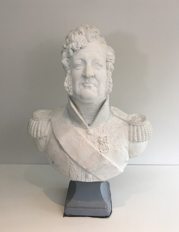 Important Louis-Philippe Plaster Bust. French-barrois-antiques-d-2335-main-637231656765158794.JPG