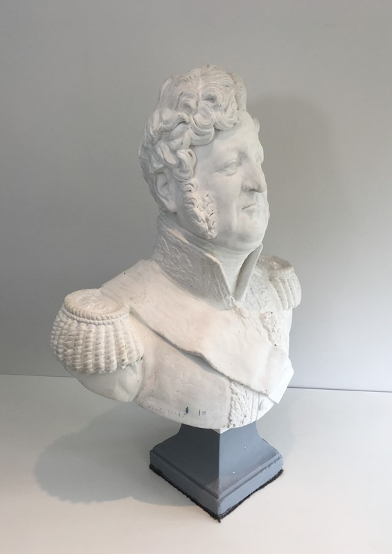 Important Louis-Philippe Plaster Bust. French-barrois-antiques-d-2337-main-637231656807970568.JPG