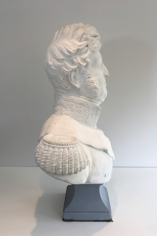 Important Louis-Philippe Plaster Bust. French-barrois-antiques-d-2338-main-637231656830626795.JPG