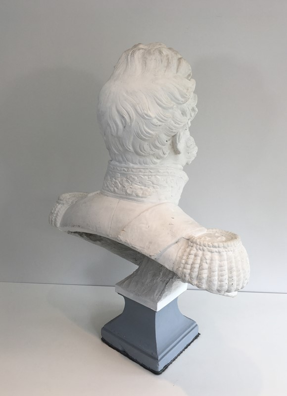 Important Louis-Philippe Plaster Bust. French-barrois-antiques-d-2339-main-637231656854064079.JPG