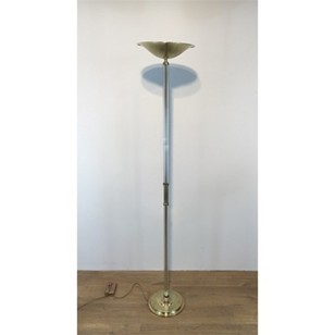 Brass and Acrylic Design Floor Lamp
