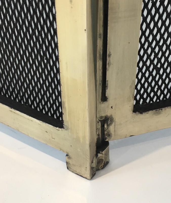 Gild Metal, Brass and Grilling Fire Place Screen.-barrois-antiques-fp-1275-main-636842804968594301.JPG