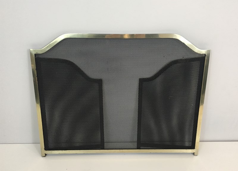 Gild Metal, Brass and Grilling Fire Place Screen.-barrois-antiques-fp-1278-main-636842805048593384.JPG
