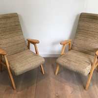 Pair of  Vintage Armchairs. French