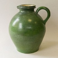Terracotta vinegar jug