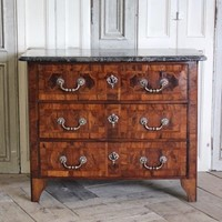 18th C French Louis XV Commode of Small Proportion
