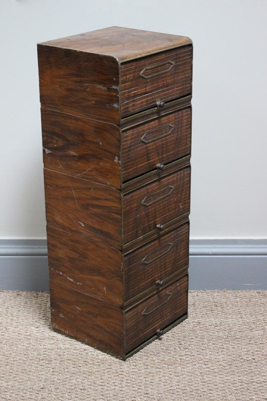 1930s Tambour Painted Tin Filing Cabinet-brownrigg-1930s-tambour-painted-tin-filing-cabinet-127-4-main-637166870932609406.jpeg
