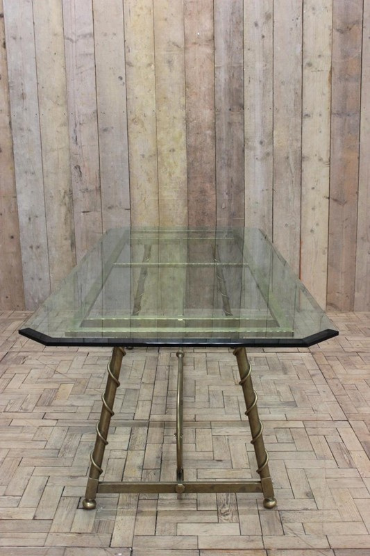 1940s French Dining Table in Brass-brownrigg-1940s-french-dining-table-in-brass-48-2-main-636579146763583390.jpeg