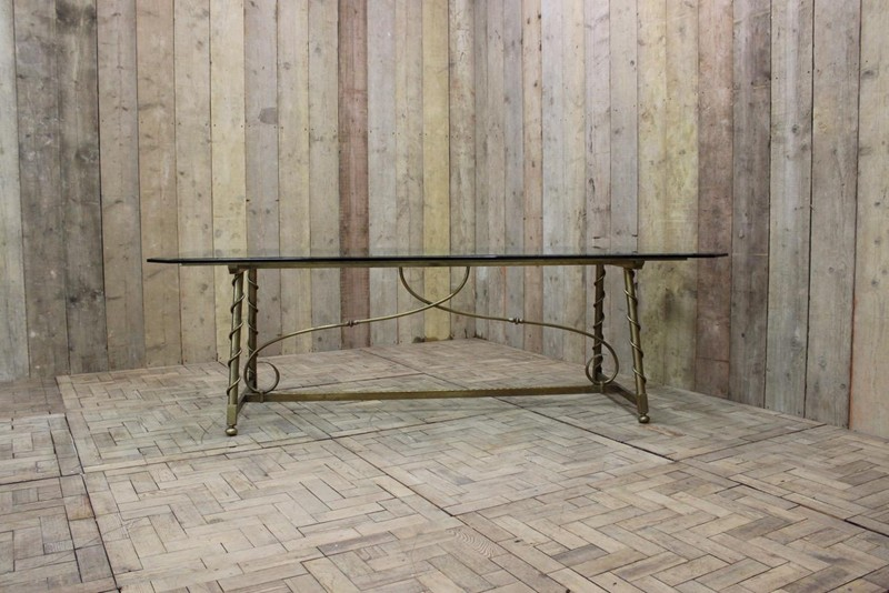 1940s French Dining Table in Brass-brownrigg-1940s-french-dining-table-in-brass-48-L-main-636579147482312246.jpeg