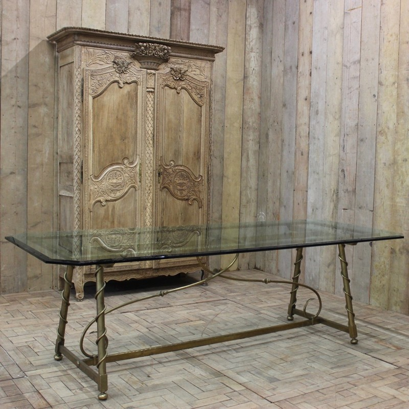 1940s French Dining Table in Brass-brownrigg-1940s-french-dining-table-in-brass-48-THEx-main-636579147485744422.jpeg