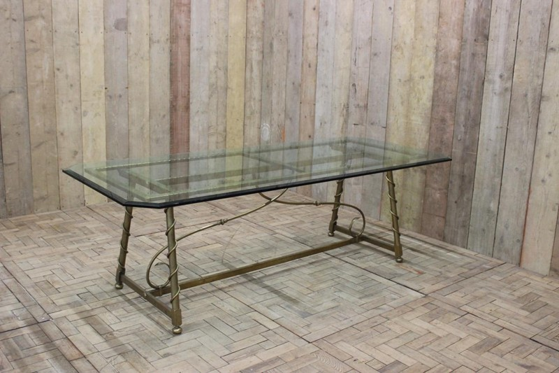 1940s French Dining Table in Brass-brownrigg-1940s-french-dining-table-in-brass-49-E5-main-636579147493700830.jpeg