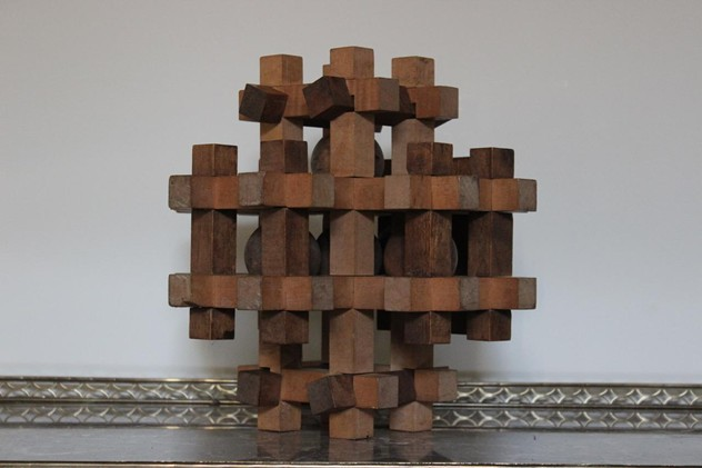 1970s Wooden Ornamental Puzzle Ball-brownrigg-1970s-wooden-ornamental-puzzle-ball-42-2_main_636476466932721817.jpeg
