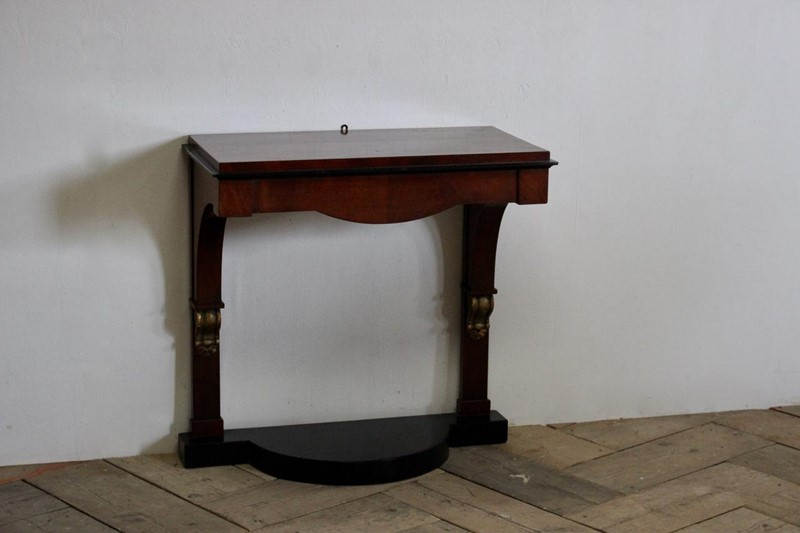 19th Cent Biedermeier Console Table with Mirror-brownrigg-19th-cent-biedermeier-console-table-with-mirror-2717-3-main-636754670635874441.jpeg