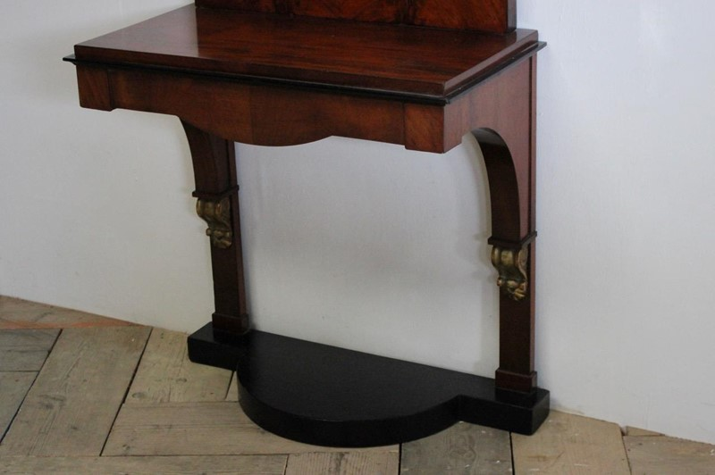 19th Cent Biedermeier Console Table with Mirror-brownrigg-19th-cent-biedermeier-console-table-with-mirror-2717-E1-main-636754670653374339.jpeg