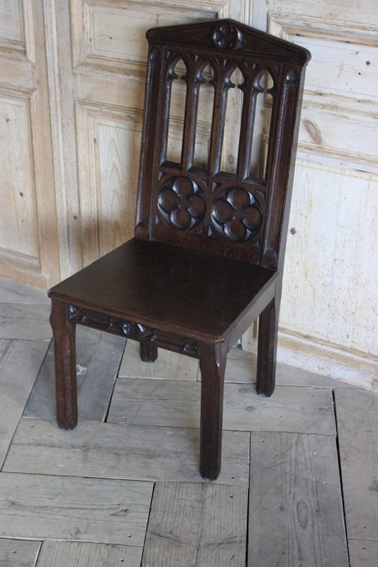 19th Cent English Gothic Hall Chair in Oak-brownrigg-19th-cent-english-gothic-hall-chair-in-oak-1556-3-main-636792642417185512.jpeg