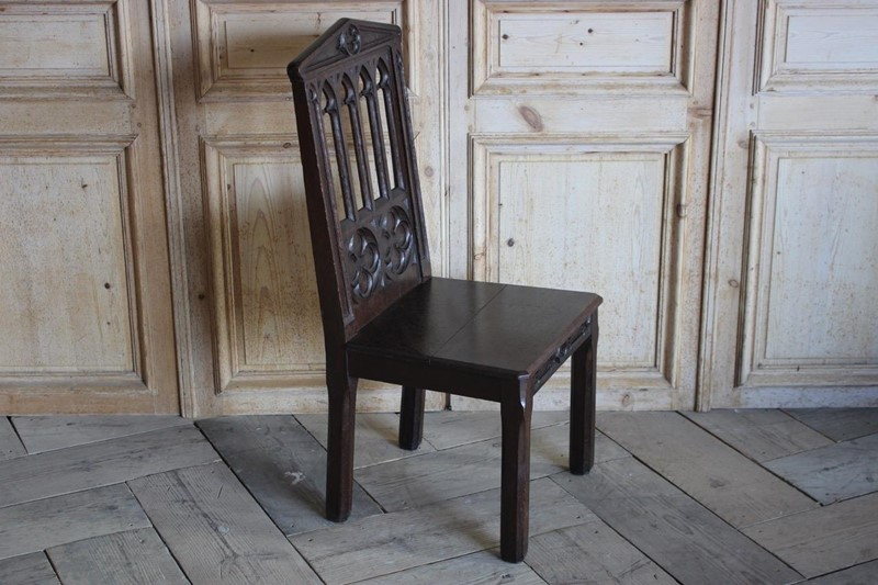 19th Cent English Gothic Hall Chair in Oak-brownrigg-19th-cent-english-gothic-hall-chair-in-oak-1656-e1-main-636792642433279171.jpeg