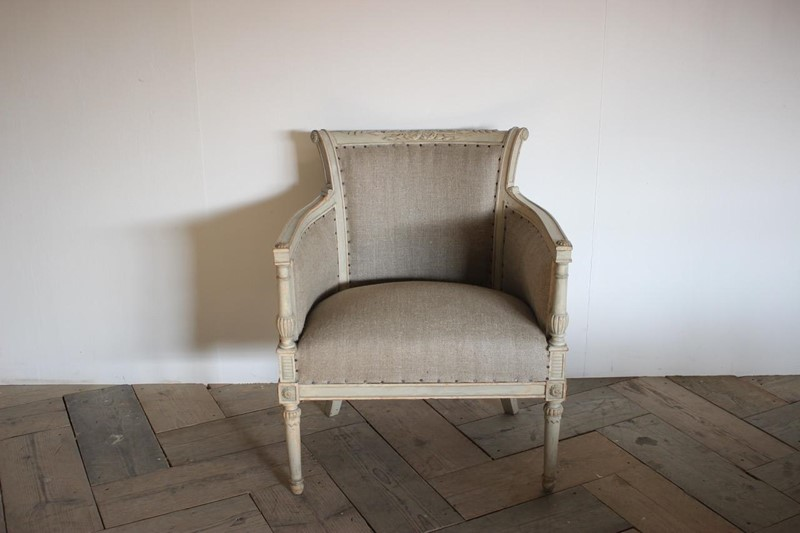 19th Cent French Empire Painted Armchair -brownrigg-19th-cent-french-empire-painted-armchair-desk-chair-334-l-main-636883347448864459.jpeg