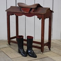 19th Century English Saddle Rack Mounting Block