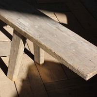 Very Large 19th century Swedish Bench