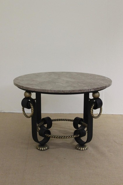 1940s Table attributed to Gilbert Poillerat -brownrigg-83-31-L_main_636437673331477049.jpeg