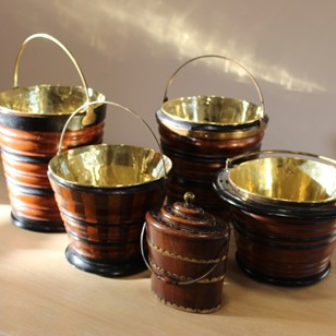 A Selection of Late 19th century Dutch Buckets