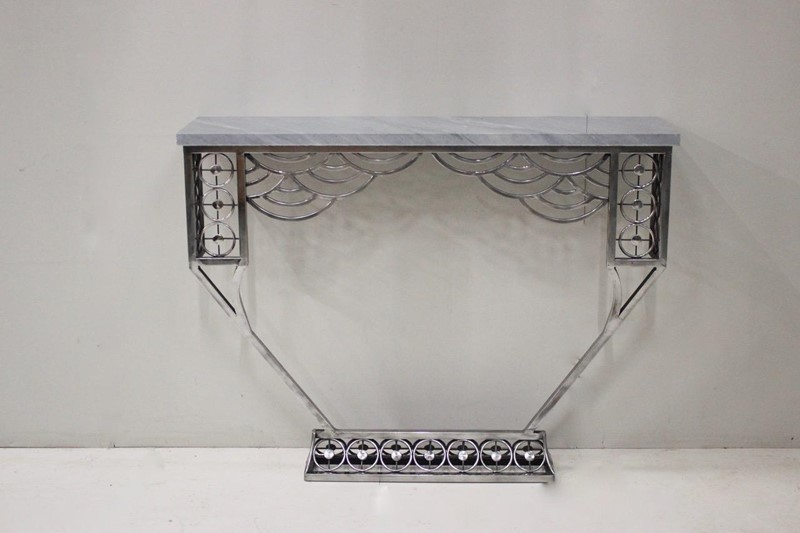 Cubist style Polished Steel Console table-brownrigg-a-very-stylish-cubist-influenced-polished-steel-console-table-174-l-main-637068578422608456.jpeg