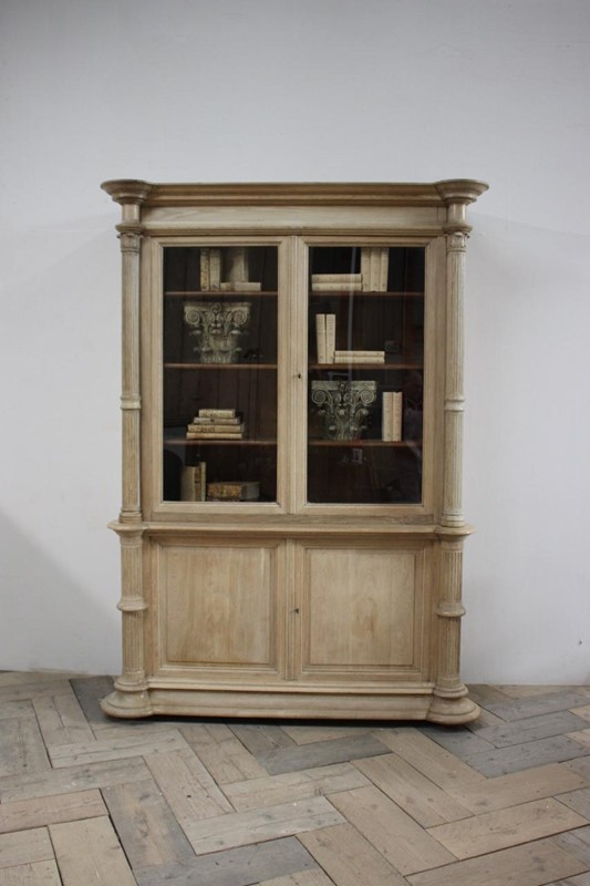 19th Cent English Bleached Oak Bookcase-brownrigg-br2-1314-L-main-636770263956694561.jpeg