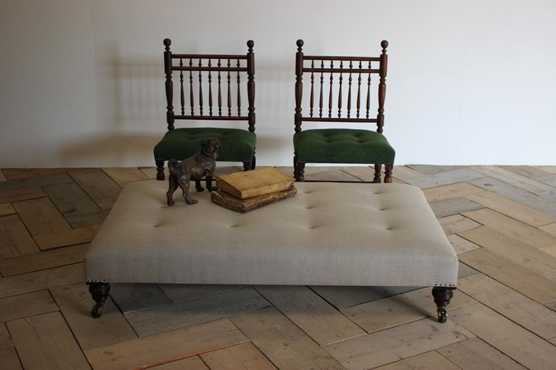 19th Cent Upholstered Ottoman / Coffee Table-brownrigg-br2-46-E1-main-636627682197628790.jpeg