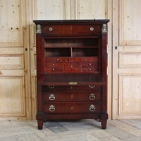 Early 19th cent French Secretaire a Abattant