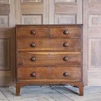 19th century English chest of drawers in Chestnut