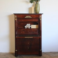 Early 19th Century French Secretaire a Abattant
