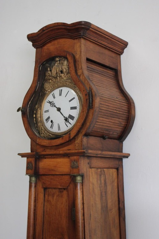19C French Walnut Long case Clock-brownrigg-early-19th-century-french-walnut-long-case-clock-5618-E1-main-636682946764610228.jpeg
