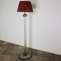 Fine Quality 1940s/50s Standing Light in Glass