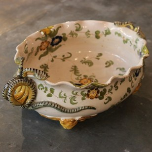 Fine Quality 19th Century French Faience Dish