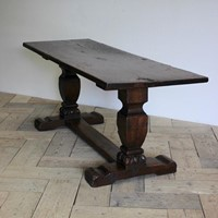 19th century French Walnut Dinning Table