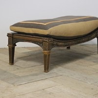 Large 19th Century Country House Footstool